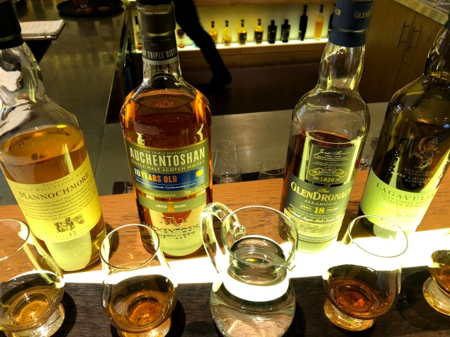 Whisky flight!