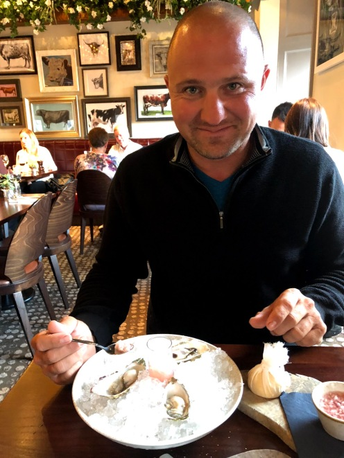 Oysters at Kyloe