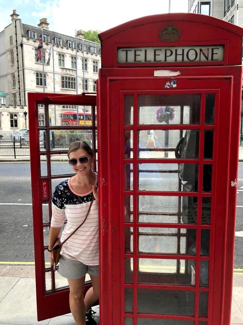 Such a tourist!